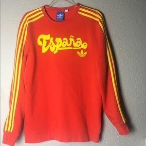 Adidas Originals España Red Sweatshirt Size M